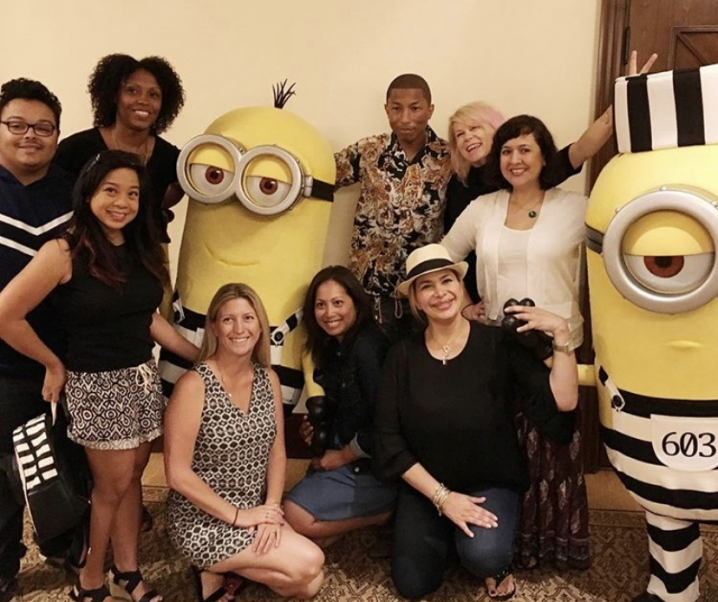 Pharrell Williams speaks on Yellow Light and Despicable Me 3 Soundtrack