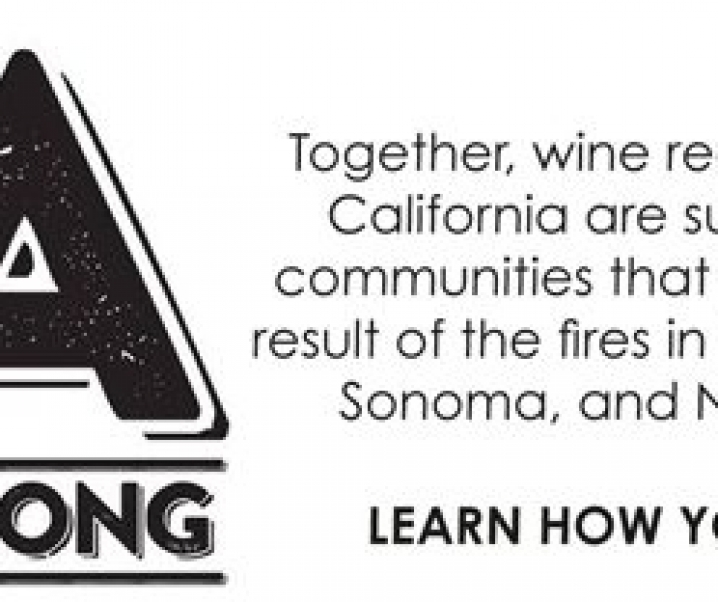 California's Regional Wine Associations Unite to Support Fire-Impacted Communities