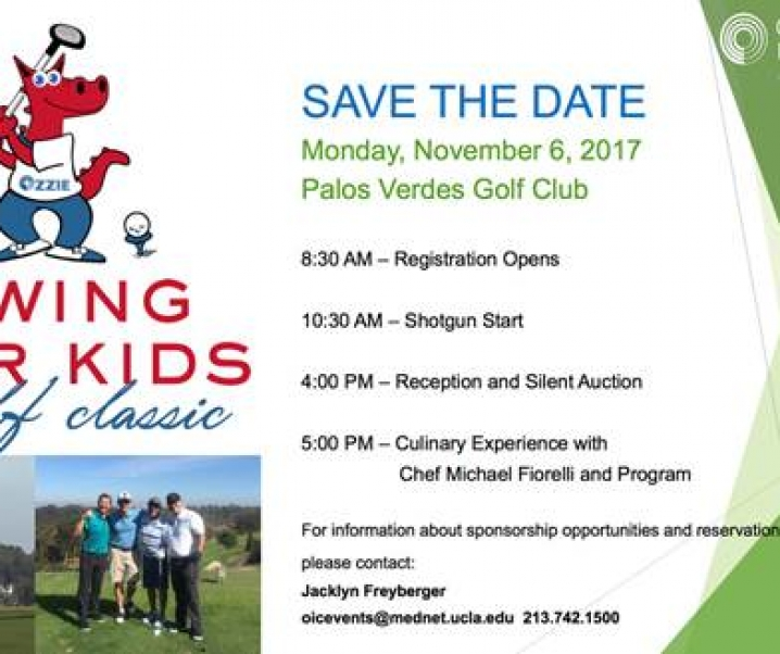Peter Facinelli Support OIC- Swing For Kids Golf On November 6th