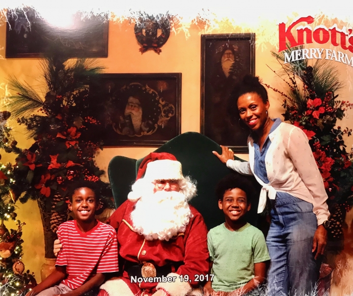 Holiday Shopping in Christmas Crafts Village at Knott's Merry Farm