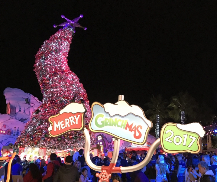 Grinchmas at Universal Studios Hollywood through December 31