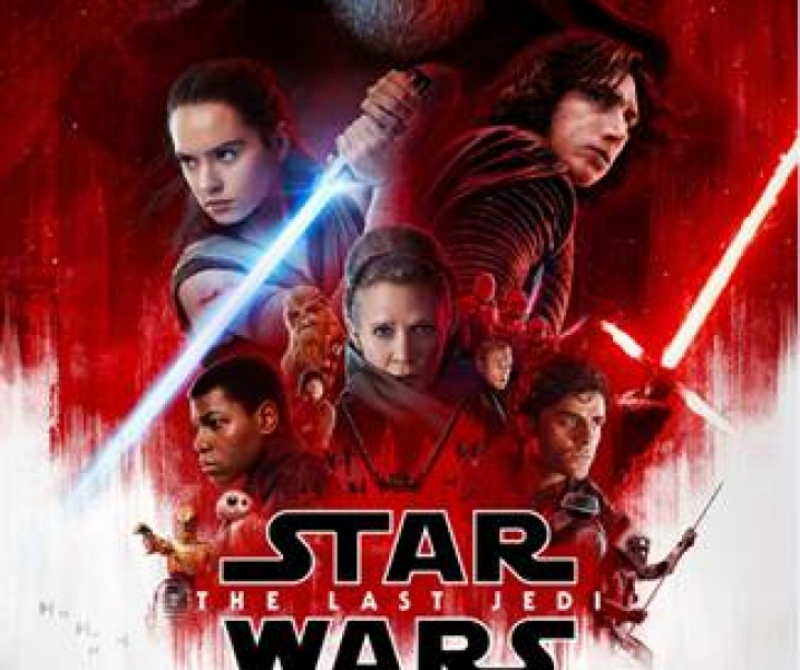 Star Wars The Last Jedi, Theaters December 15, 2017