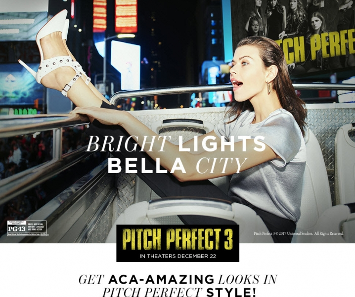Vince Camuto Announces Partnership with Universal Pictures' Pitch Perfect 3