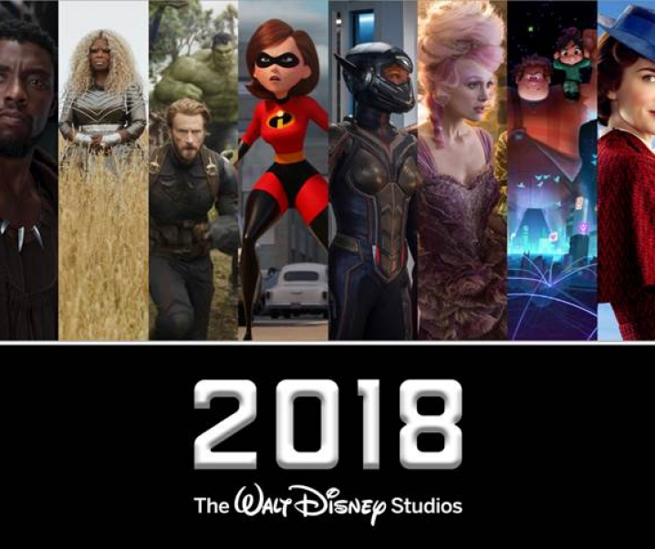 2018: The Year of Disney at the Movies