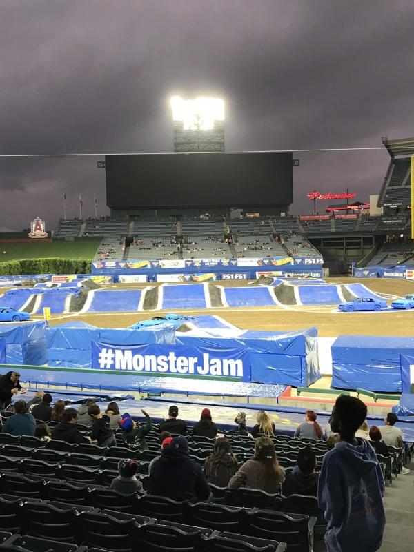 Monster Jam and HLH Bros Roaring Fun at Anaheim's Angel Stadium
