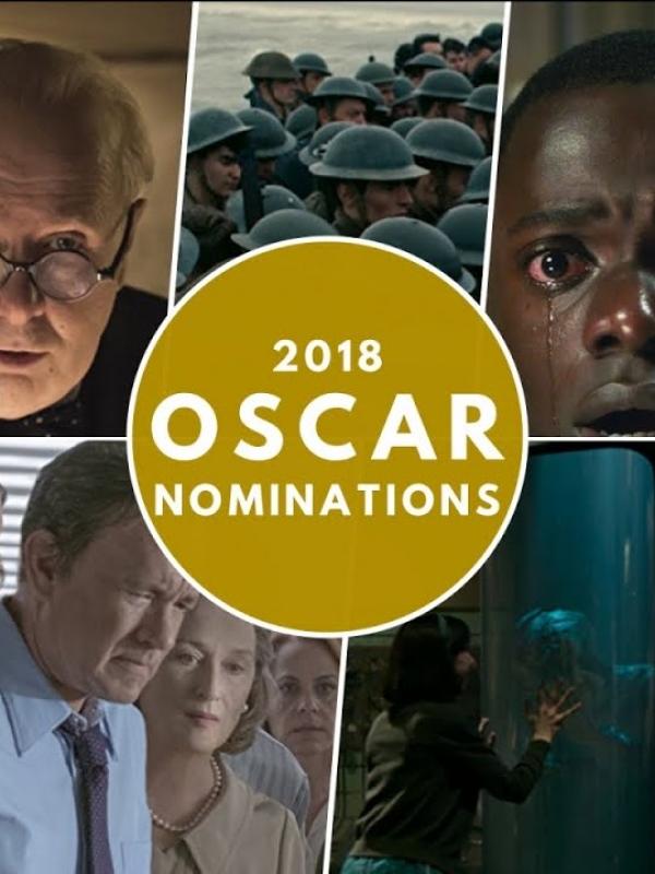 90th Annual Academy Awards 2018 Oscar Nominees