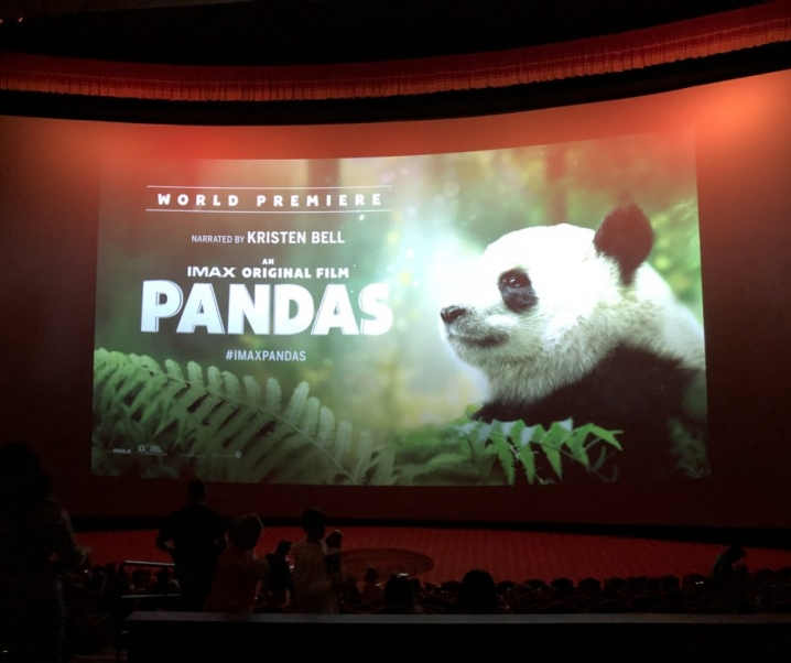 IMAX PANDAS HOLLYWOOD WORLD PREMIER W/ KRISTEN BELL
