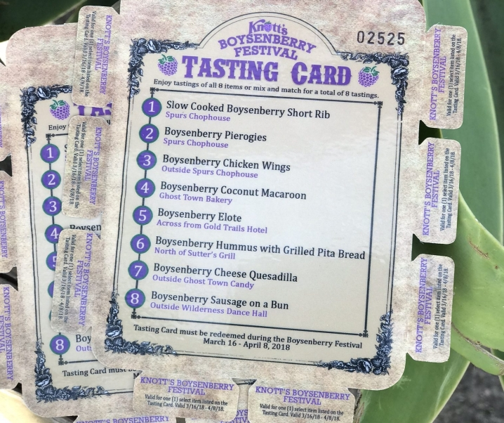 Celebrate New Tastings with Knott's Farm at the Boysenberry Festival