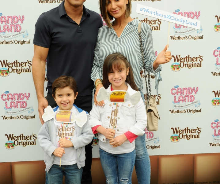 Mario Lopez and Family Celebrate National Caramel Day with Werther's Original x Candy Land