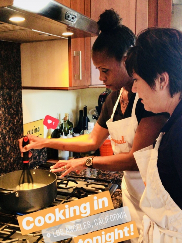 An Intimate Dinner  Experience with Cozymeal and Italian Chef Elisabetta