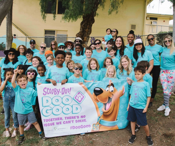 Los Angeles Families Doo Good and Feel Good with Scooby-Doo