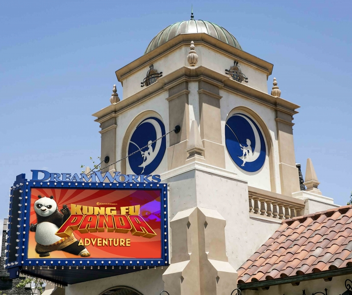 "Universal Studios Hollywood & DreamWorks Theatre Featuring ""Kung Fu Panda: The Emperor's Quest"" NOW OPEN"