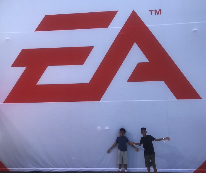 I BRAVED EA PLAY IN LA WITH THE HLH BROS.
