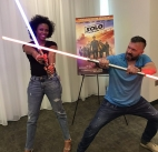 Family Night SOLO: A Star Wars Story ON BLURAY SEPTEMBER 25