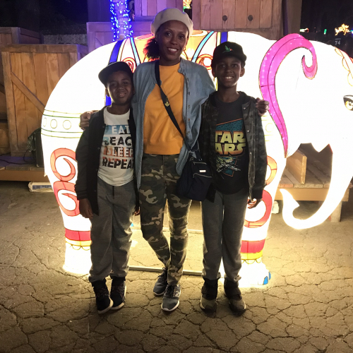 Family Night Out at the Chinese Lantern Festival. Fairplex Pomona
