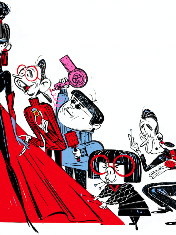 Collectable Concept Art with Blu-ray Release of Disney's The Incredibles 2