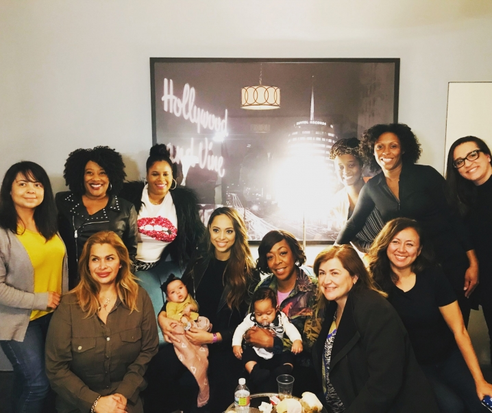 Mom's Lunchdate with Amber Stevens, star of HAPPY TOGETHER and Tichina Arnold, star of THE NEIGHBORHOOD