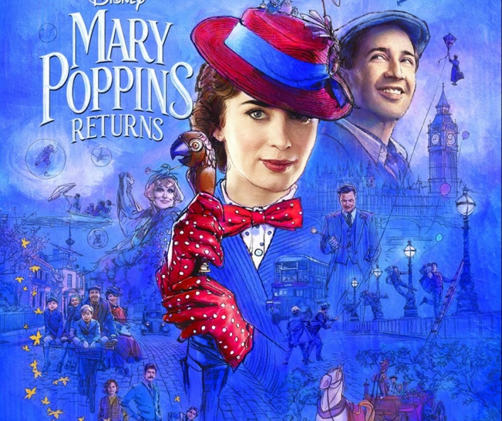 The Iconic and Fashionable Mary Poppins Returns, Theaters December 19