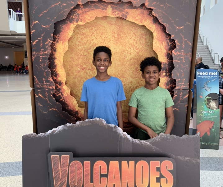 VOLCANOES 3D: The Fires of Creation @ IMAX,California Science Center, January 21