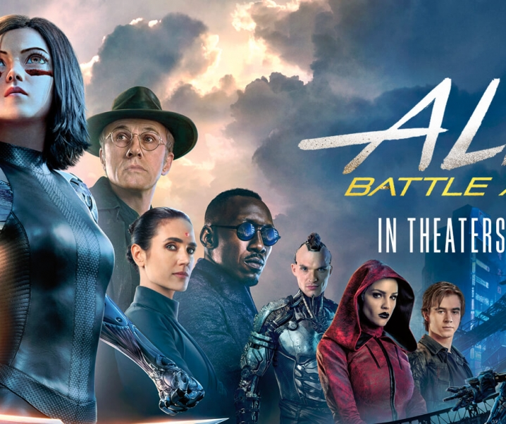 ALITA: Battle Angel Kicks Into Theaters February 14!