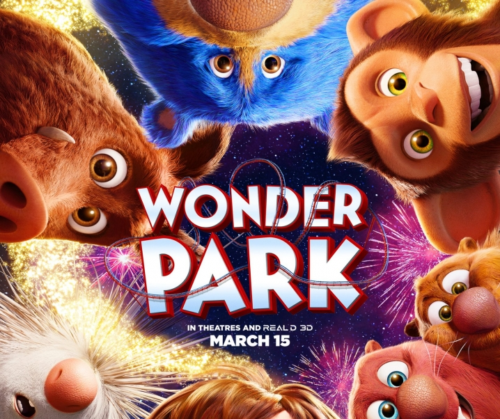 There is a WonderPark in All of Us!  Theaters March 15.