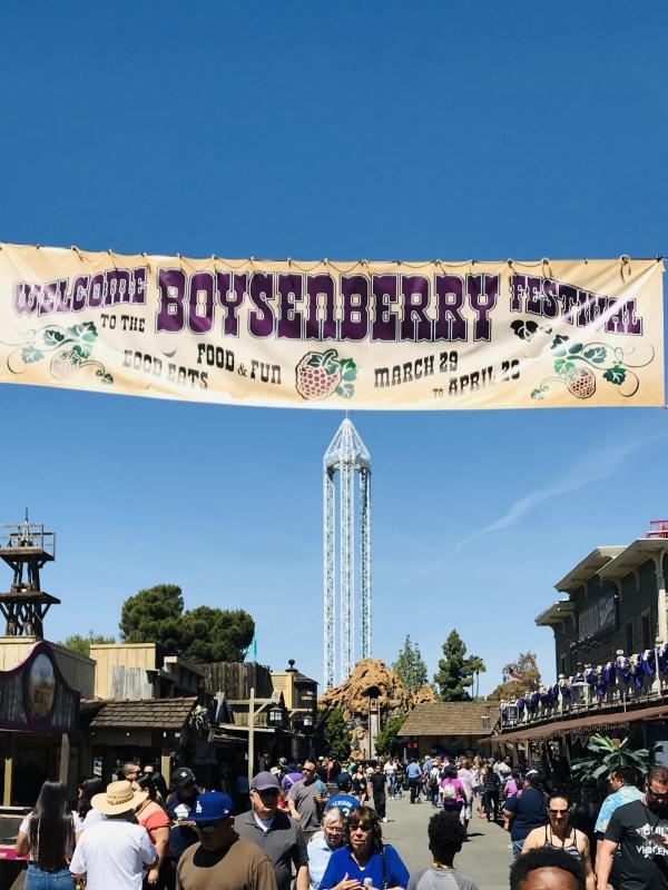 Knott's Berry Farms Boysenberry Festival, Now Thru April 28