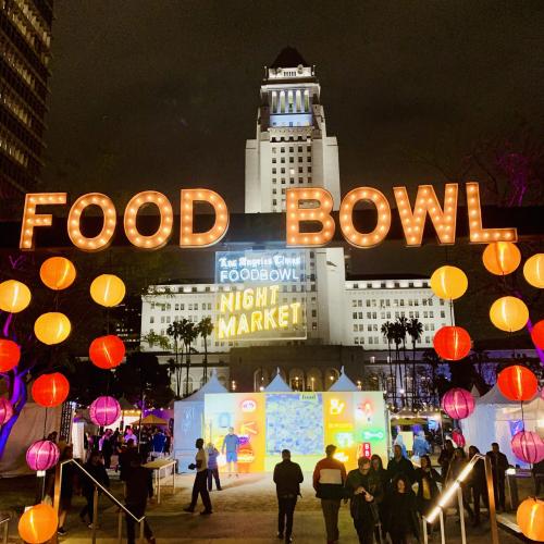 Visit  L.A. in May & Experience 5 Nights at the LA Food Bowl Night Market