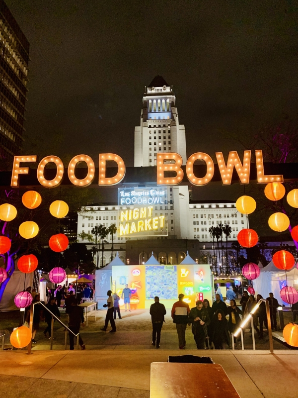 Visit  L.A. in May & Experience 5 Nights at the LA Food Bowl Night Market