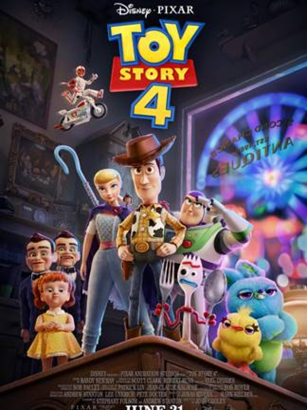 Summer Blockbuster Toy Story 4 says Farewell, at The El Capitan Theater in Hollywood