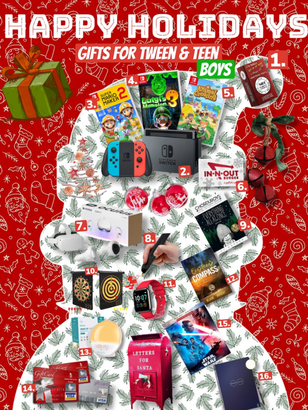 Holiday Gift Guide Tween & Teen Boys Edition
